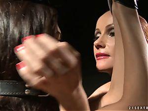 femdom Katy Borman puts this whore in some mischievous anguish