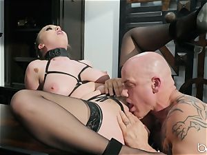 Lena Paul kinky suit romped with Derrick