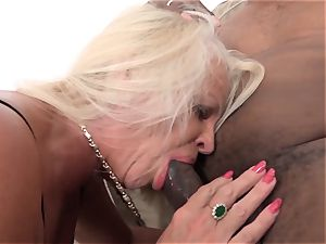 grandmas with enormous bosoms love bbc interracial anal invasion plow