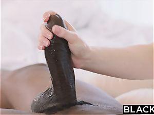 BLACKED hot student screws Boyfriends big black cock roommate