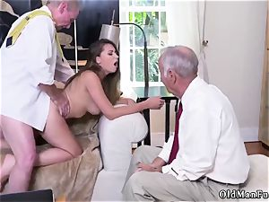 bang his older buddy playfellow s step-sister Ivy amazes with her humungous fun bags and rump
