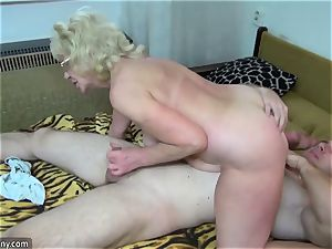 old grandma got disrobed and fucked hardcore way