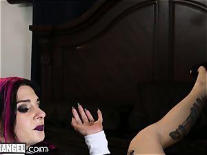 Joanna Angel butt-banged fleshy and Deep