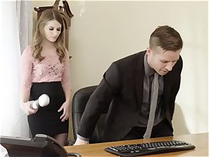 deviant manager smashes wonderful Office assistant Alice March