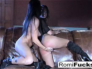 Romi Rain steamy all girl orgy
