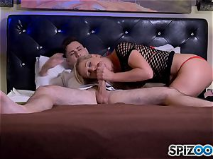 manhood globbering blonde cougar Cherie Deville