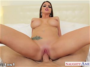 scorching housewife Brooklyn chase pounding hard