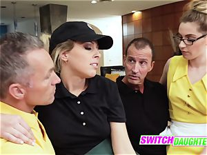 crazy daughters-in-law determine to change daddies for some extra allowance money