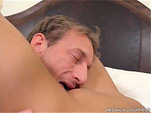 ballsack deep plumbing into Jessica Jaymes