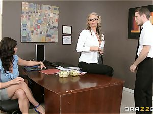 mummy three-way with Phoenix Marie and Kendra zeal
