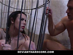 DeviantHardcore - Casey gets a jummy fetish plow