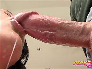 PervCity buxomy mummy deep-throating fat fuckpole