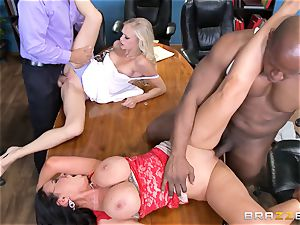 Divorce turns filthy with Nikki Benz and Alex Grey