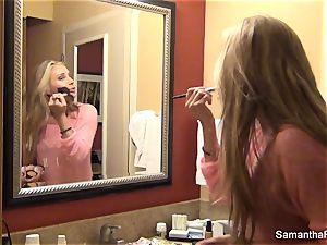 sweetie Samantha's behind the scenes footage