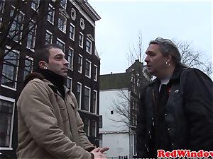Dutch call girl doggystyled until cumsprayed