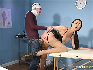 Ania Kinski smashed from the rear