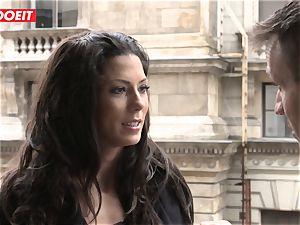 LETSDOEIT - Spanish stunner Gets porked By Hungarian prick