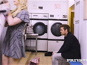 Private.com - Mia Malkova gets ravaged in the laundry