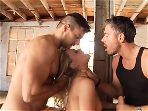 sugary-sweet blonde Mia Malkova threesomed
