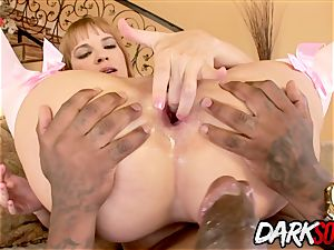 dark-hued boner rectal bitch Dana Dearmond