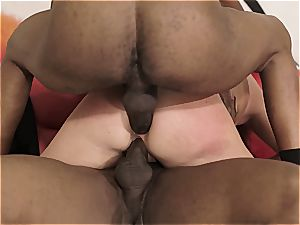 dual bbc invasion for super-naughty housewife
