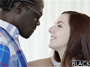 BLACKED Nerdy Ember Stone Takes Her first-ever dark-hued chisel