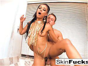 princess of the Damned milks his penis