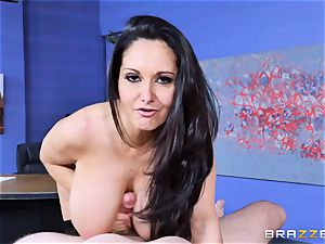 Ava Addams penetrated in her raw slit
