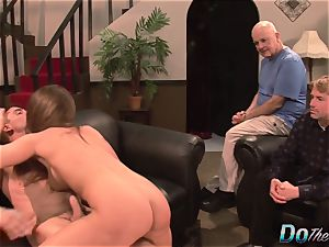 wife Cathy Heaven Is buggered by a Stranger and Her hubby Just likes It