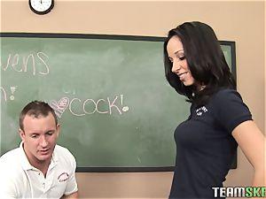 InnocentHigh uber-sexy student Jada Stevens porks educator