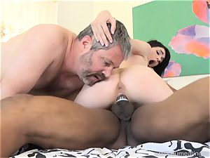 Ivy Aura boinks Neighbor in Front of Her old husband