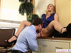 Nicole Aniston Chad Office creampie