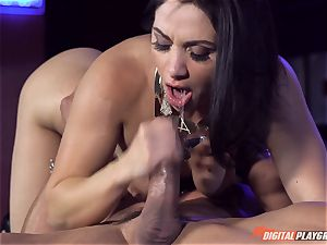 Lea Lexus pummeled in her jummy cock-squeezing muff pie pudding