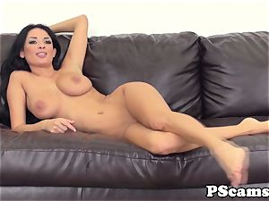 big-boobed cam bombshell Anissa Kate cockriding