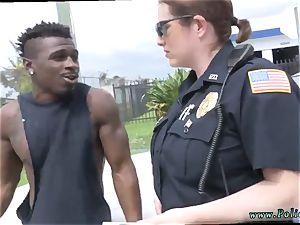 wifey jizz flow cunny dark-hued suspect taken on a raunchy rail