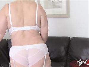 AgedLovE big-chested Lacey Starr xxx and blow-job
