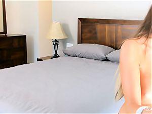 bikini cuties August Ames and Darcie Dolce get nude