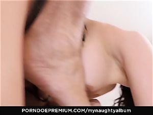 MY insatiable ALBUM - Francys Belle slurps cum in studio lovemaking