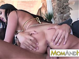 cougar mother Claudia Valentine doggie