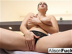 Stacked for days Alison Tyler helps the viewer jism