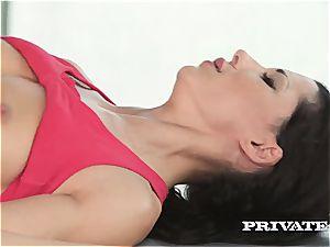 bi-racial exercise anal invasion hook-up with Alexa Tomas