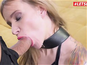 LETSDOEIT - Angel Piaff arse banged By Mike To Her restrict