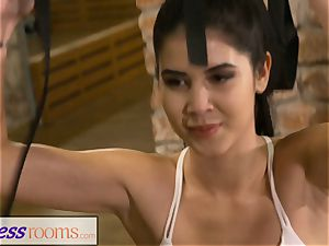 fitness apartments lithe fantastic teenage pummels her lecturer