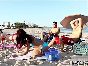 teen ass-fuck riding compilation and masturbation web climax Beach Bait And switch