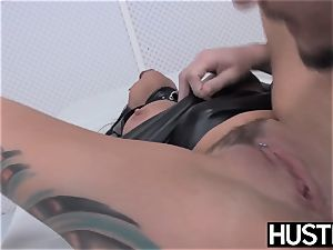 emo milf Lola sugary slit penetrated with man rod and fucktoys