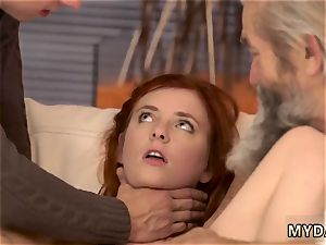 older cool grandma and sugar daddy hardcore sudden experience with an older gentleman