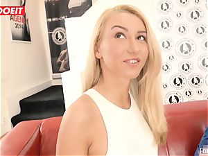 Katrin Tequila boned hardcore on her very first audition
