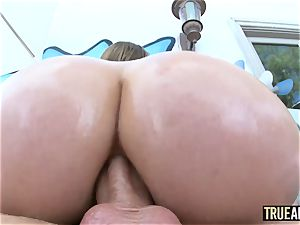 supah big-titted Lena Paul has a deep anal invasion audition
