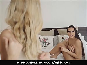 A lady KNOWS - Mea Melone in intense lezzy fucky-fucky