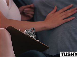 TUSHY Lana Rhoades anal invasion meeting